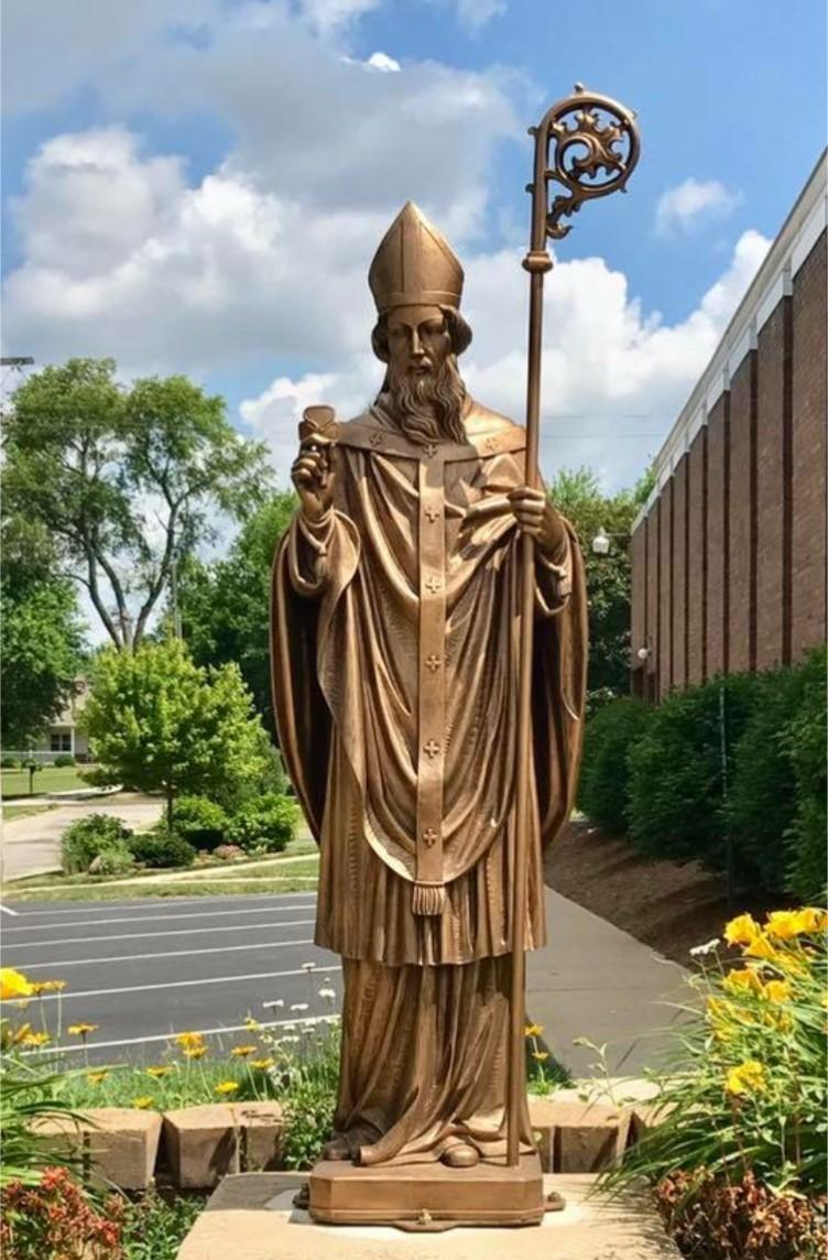 St. Patrick Statue 2018