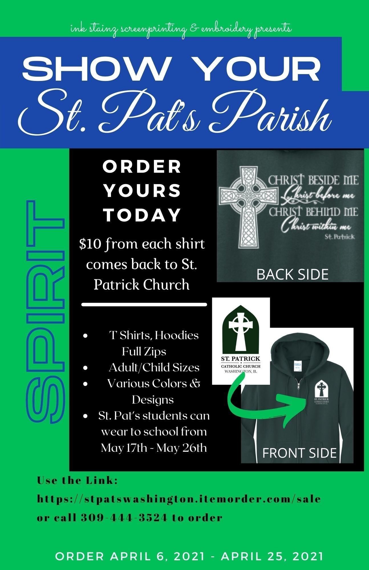 Tshirt Order Flyer